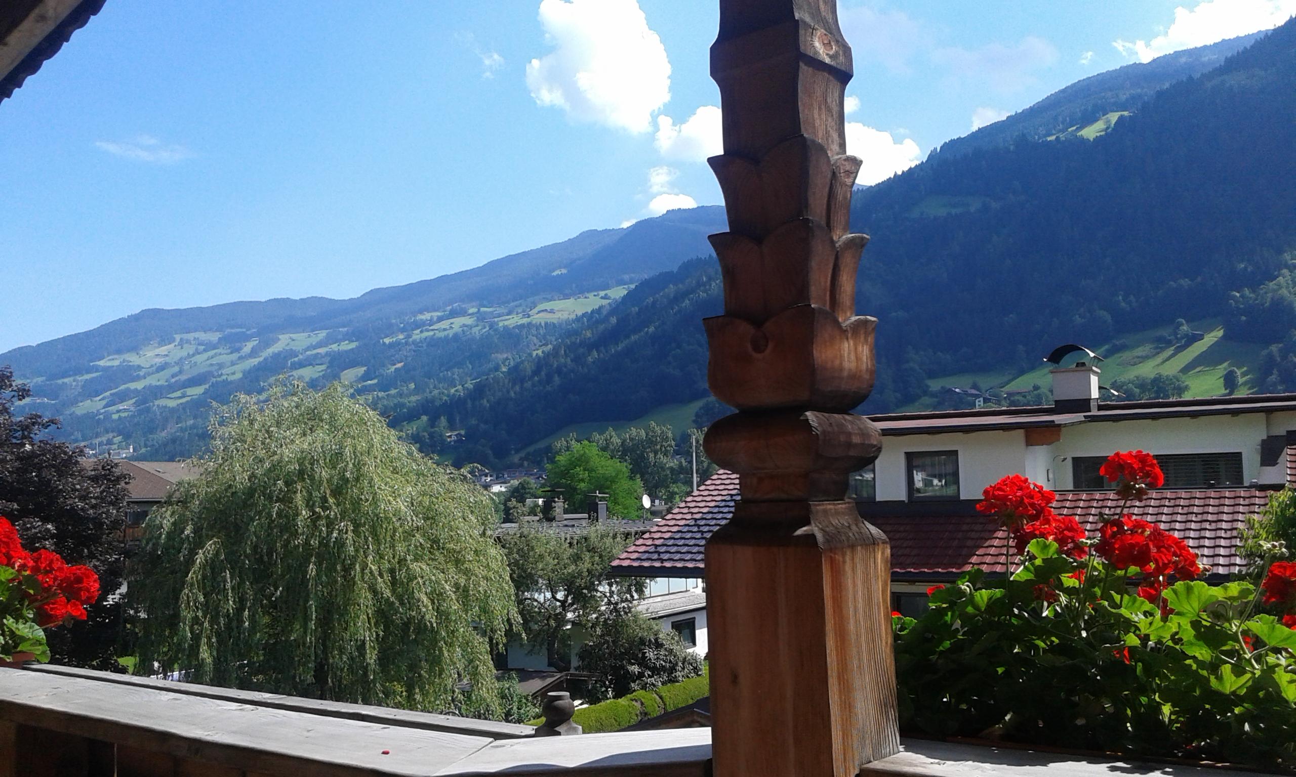 Ausblick auf Hartberg