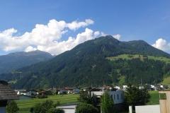 Aussicht Kupfnerberg, Hochzillertal- Westseite