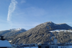 Winter Ausblick Skigebiet Hochzillertal